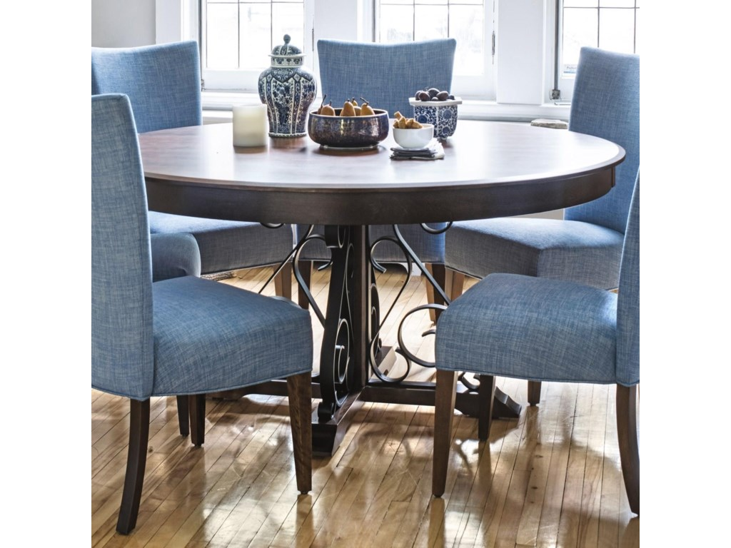 Canadel Custom Dining Customizable Dining Table Furniture And - Custom kitchen table and chairs