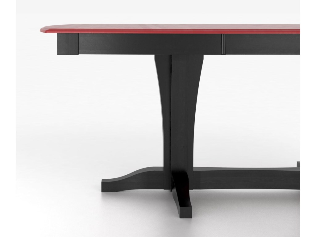 Canadel Custom Dining Counter Height TablesCustomizable Boat Shape Counter Table