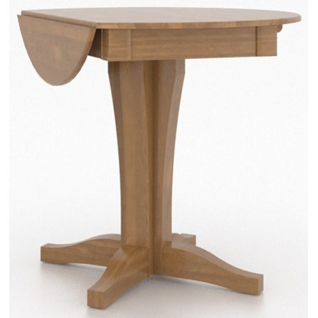 Canadel Custom Dining Counter Height TablesCustomizable Drop Leaf Counter  Table