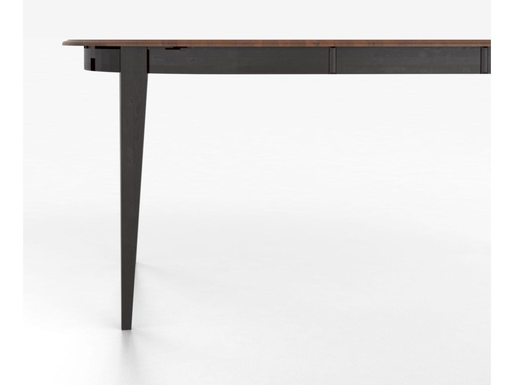 Canadel Custom Dining TablesCustomizable Oval Counter Table with Legs