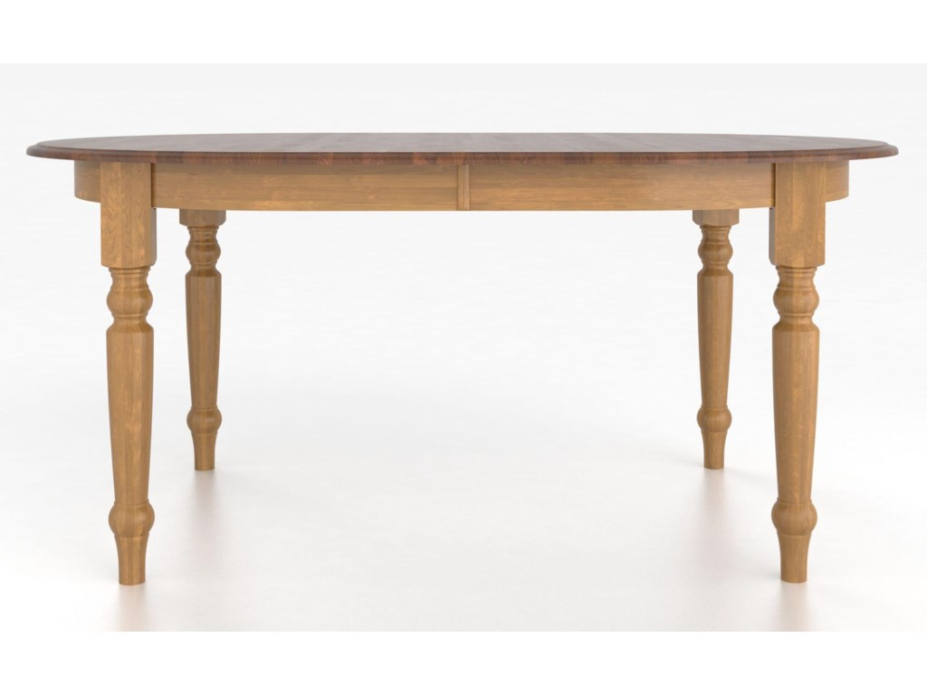 Canadel Custom Dining Tables<b>Customizable</b> Oval Table with Legs