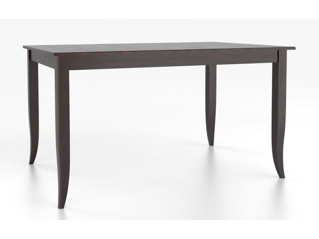 Canadel Custom Dining Counter Height TablesCustomizable Rectangular Counter Table