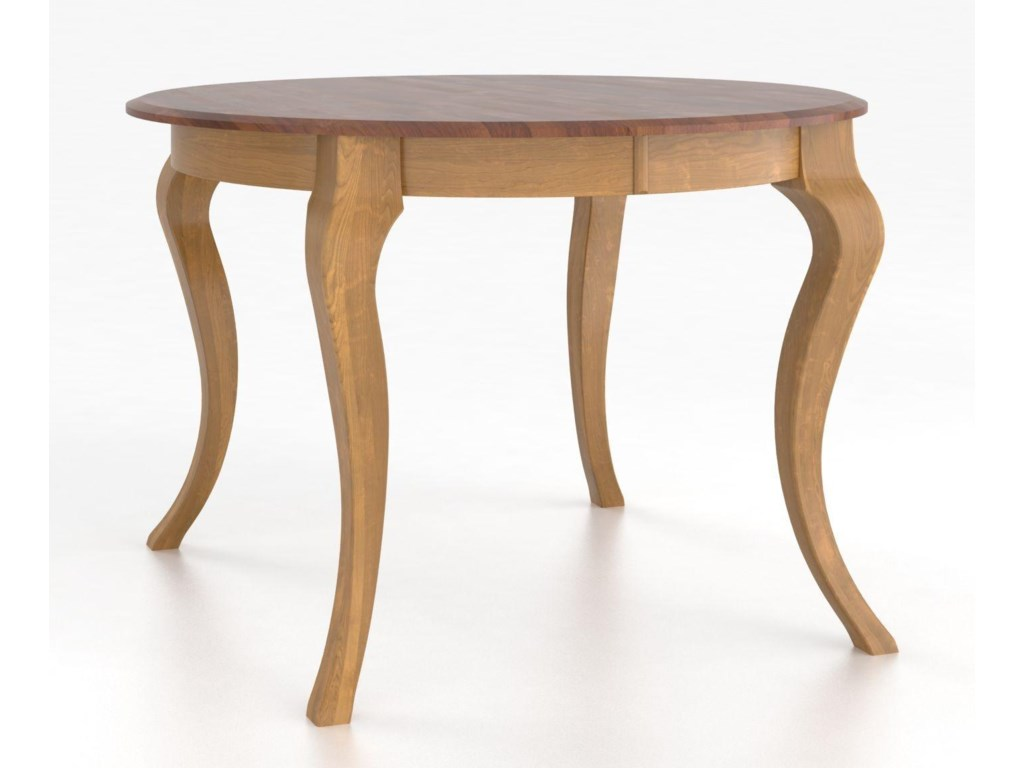 Canadel Custom Dining Tables<b>Customizable</b> Round Table with Legs