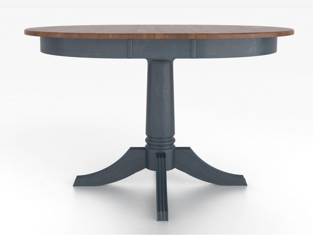Canadel Custom Dining Tables<b>Customizable</b> Round Table w/ Pedestal