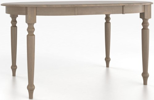 Canadel Custom Dining Tables Customizable Round Counter Height Table with Legs
