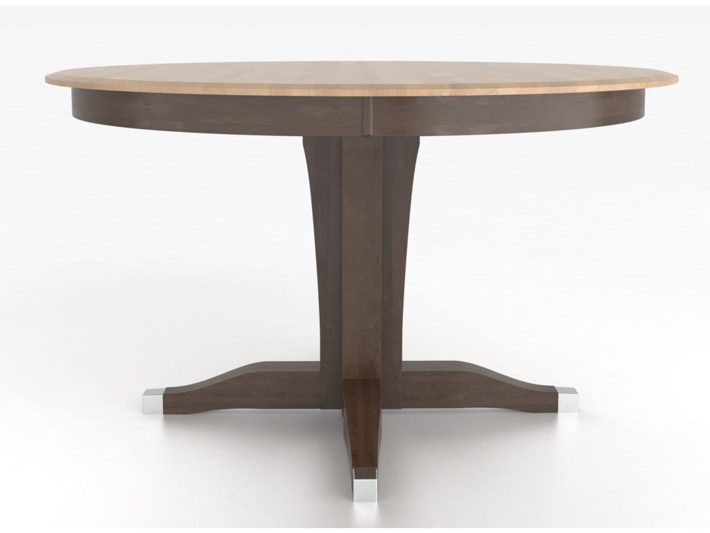 Canadel Custom Dining Counter Height Tables Customizable Round - Custom counter height table