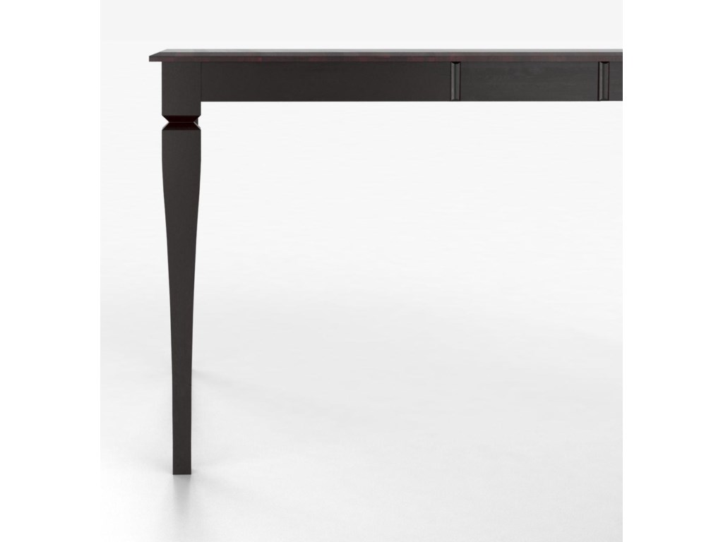 Canadel Custom Dining Counter Height TablesCustomizable Square Counter Table with Legs