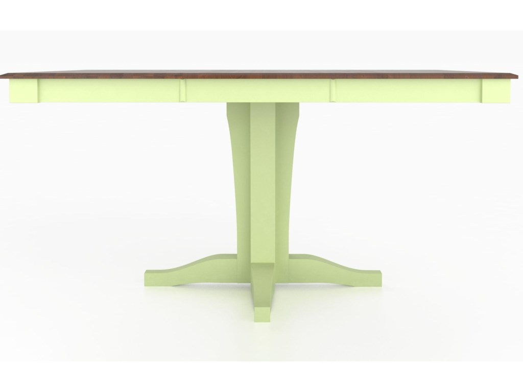 Canadel Custom Dining Counter Height TablesCustomizable Square Counter Table