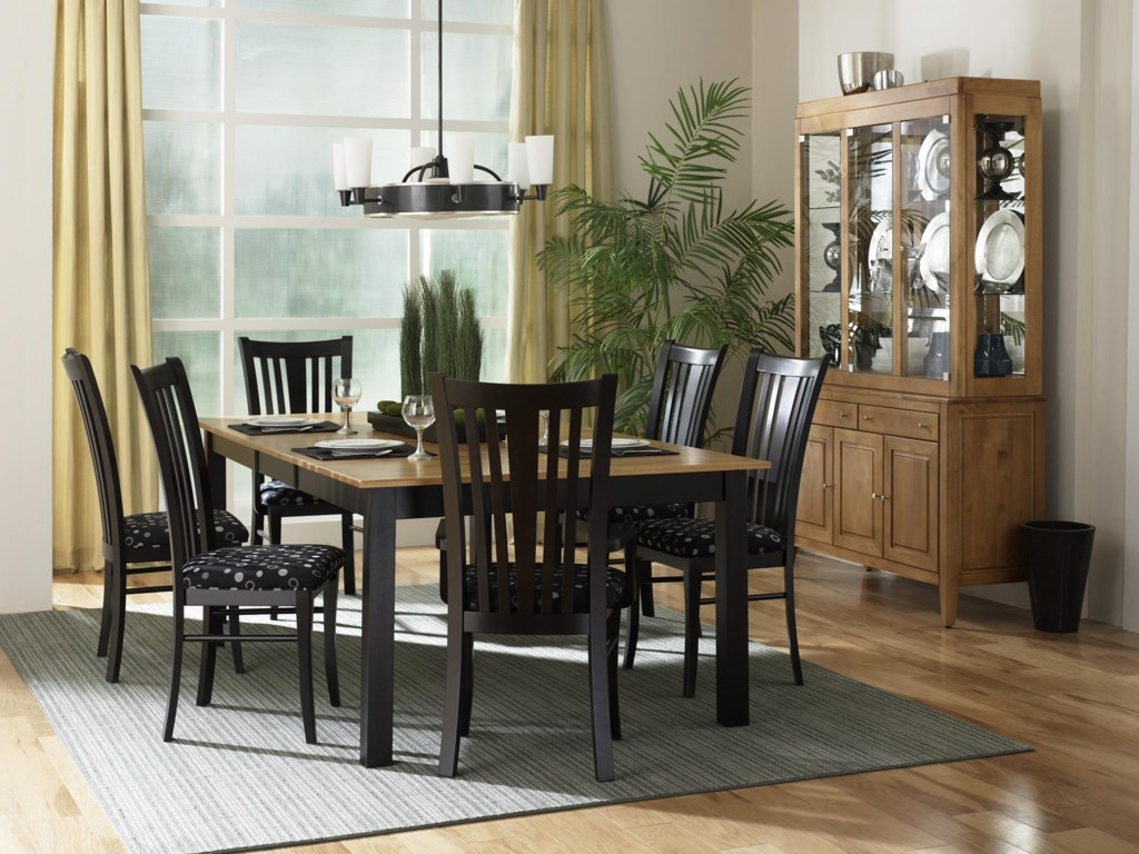 Shown with Table, Armchairs, and Side Chairs