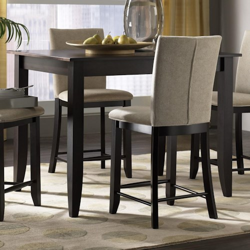 Canadel custom dining high dining customizable for B m dining room furniture