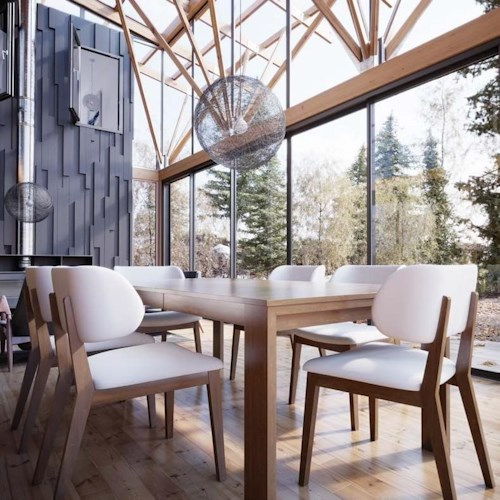 Canadel Downtown - Custom Dining Customizable Rectangular Table Set