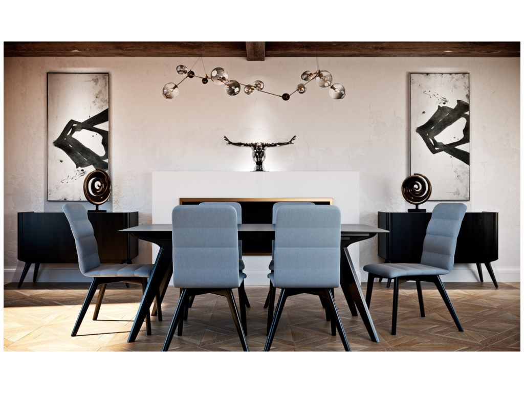 Canadel Downtown - Custom DiningCasual Dining Room Group