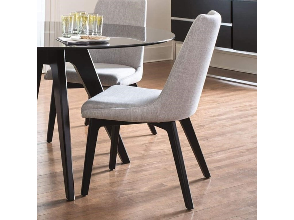 Canadel Downtown - Custom DiningCustomizable Upholstered Side Chair