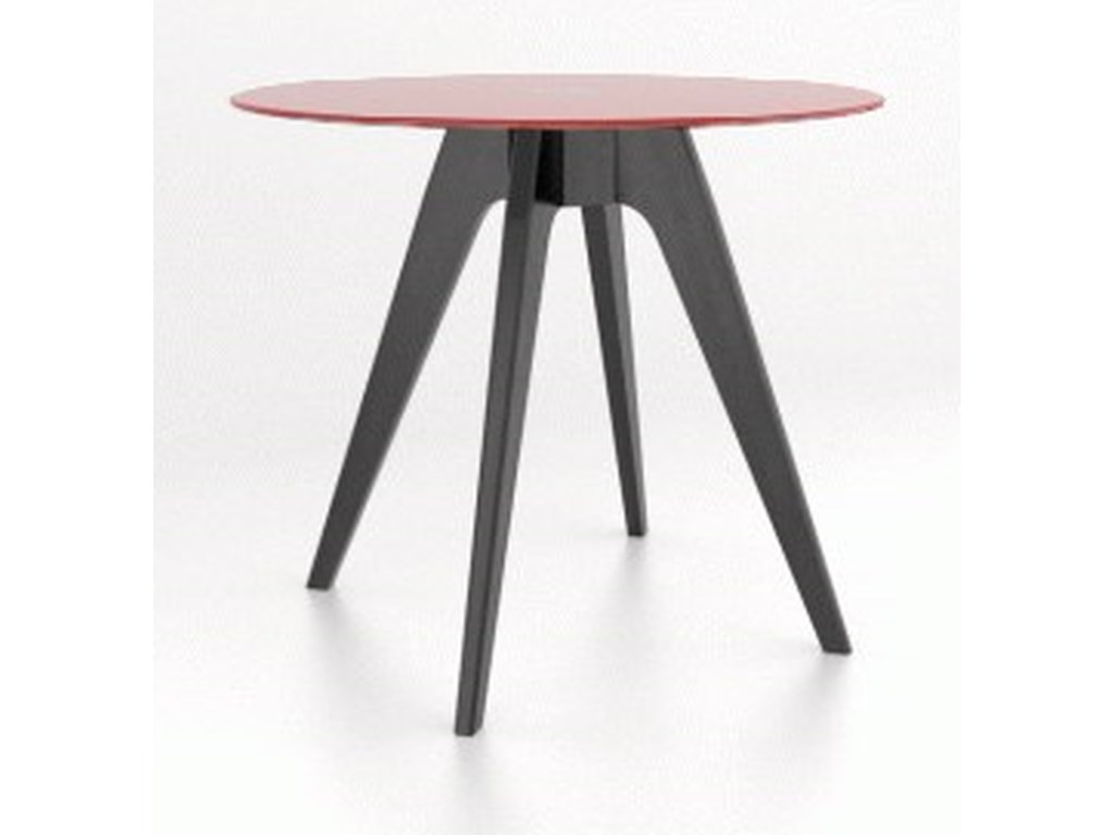 Canadel Downtown - Custom DiningCustomizable Glass Top Counter Table