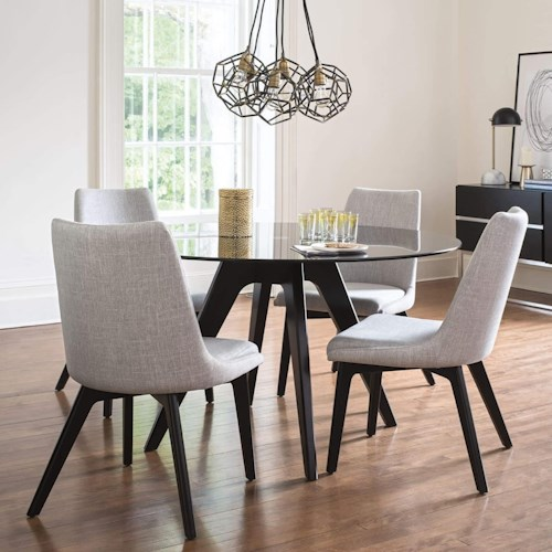 50d22603e605 Canadel Downtown - Custom Dining Customizable Round Table Set ...