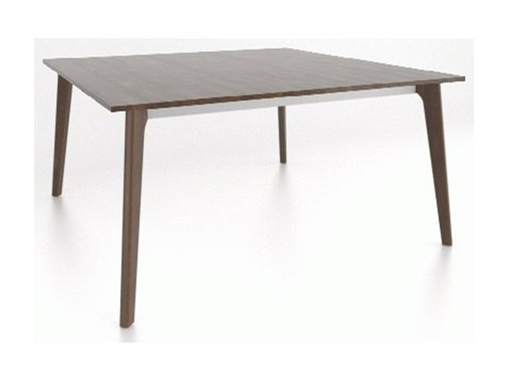 Canadel Downtown - Custom DiningCustomizable Wood Top Dining Table