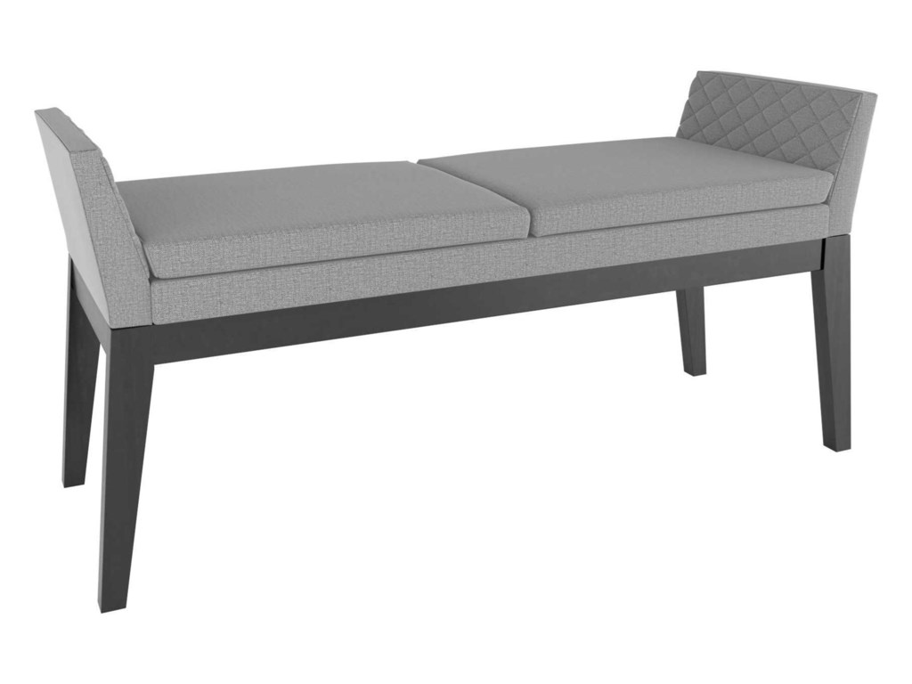 Canadel Downtown - Custom DiningCustomizable Upholstered Bench