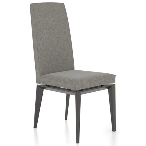 Canadel Downtown - Custom Dining Contemporary Customizable Side Chair with Tall Back