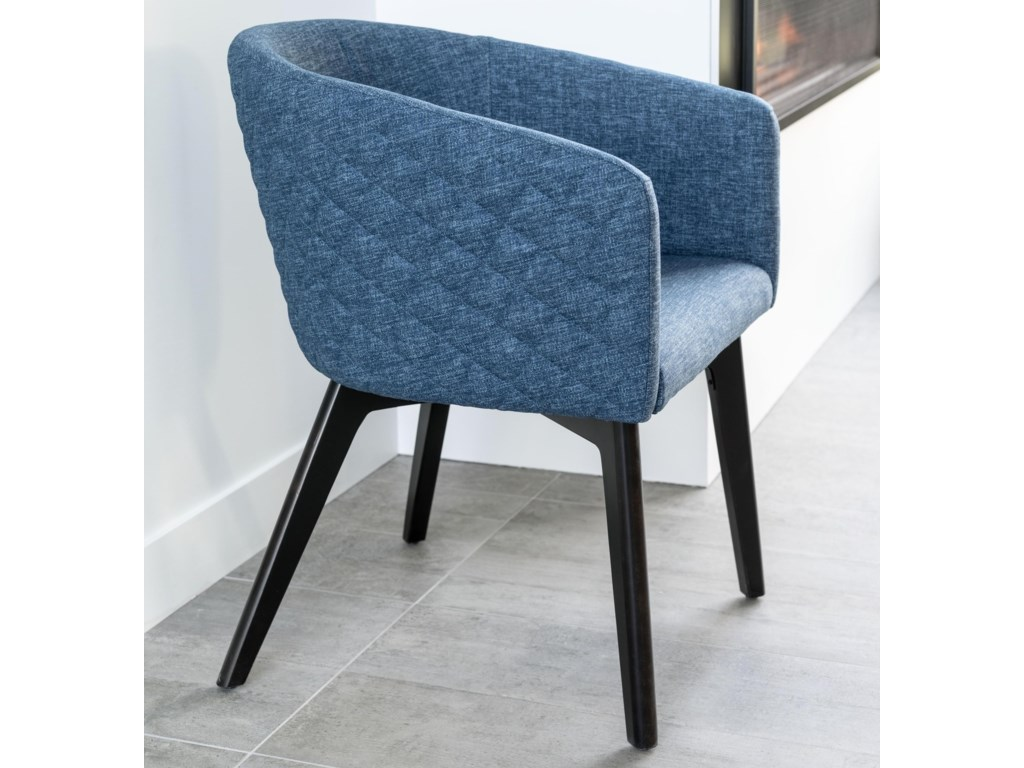 Canadel Downtown - Custom DiningCustomizable Quilted Dining Chair
