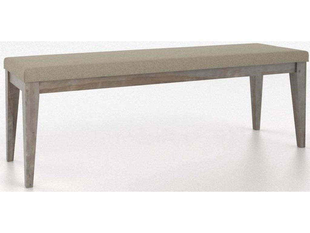 Canadel East SideCustomizable Dining Bench