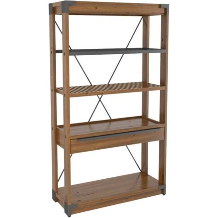 Customizable Wooden Bookcase