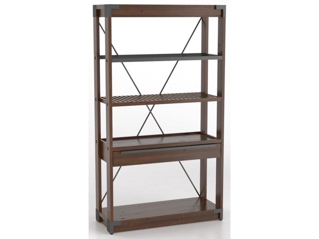 Canadel East SideCustomizable Wooden Bookcase