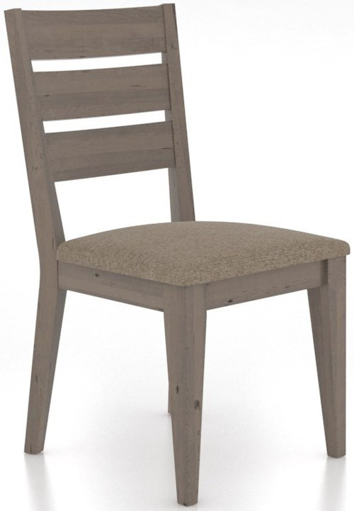 Canadel East Side Customizable Dining Chair with Upholstered Seat