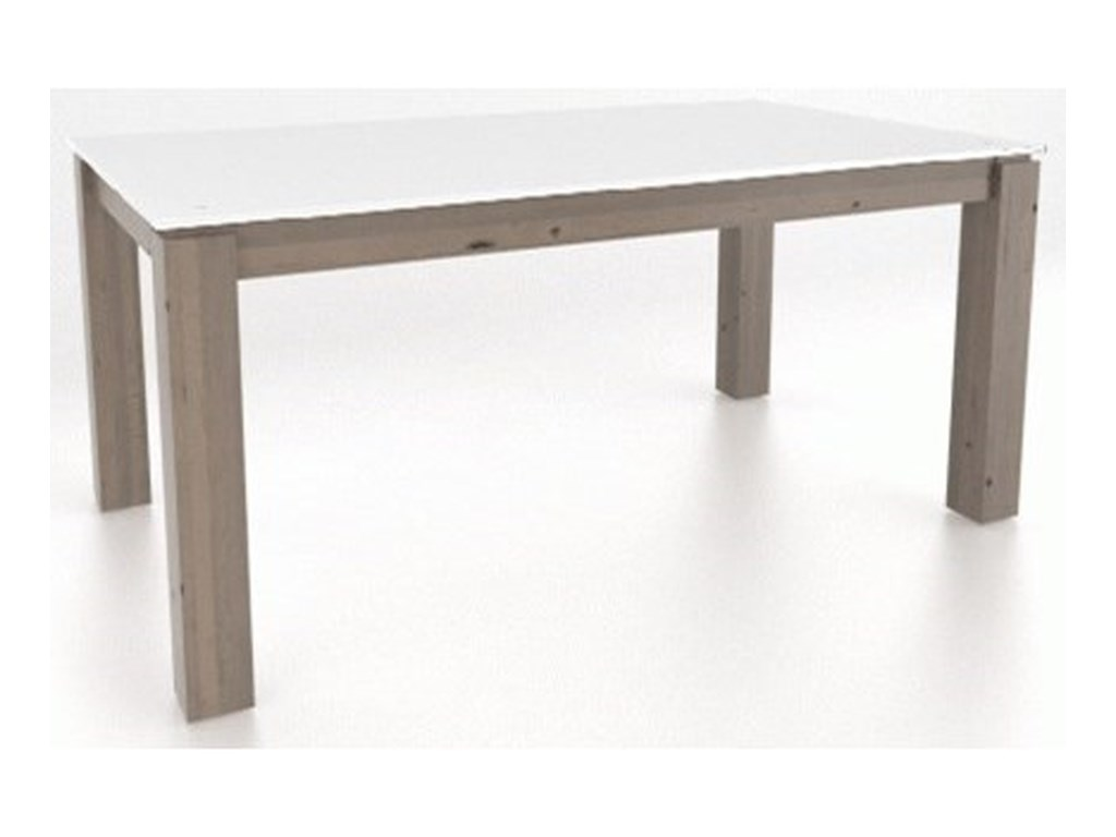 Canadel East SideCustomizable Glass Top Table