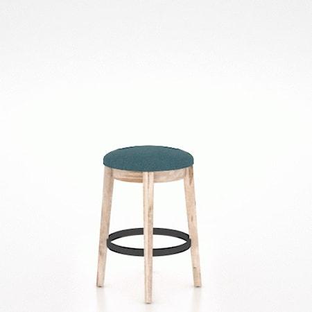 Customizable Backless Upholstered Stool