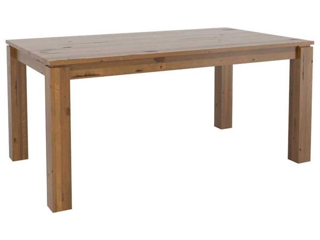 Canadel East SideCustomizable Wood Top Dining Table