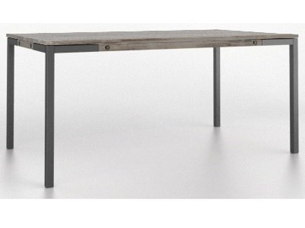 Canadel East SideCustomizable Rectangular Wood Top Table