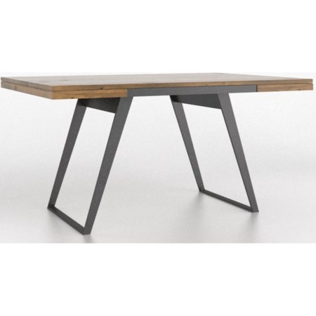 Customizable Dining Table with Wood Top