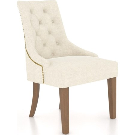 Customizable Upholstered Host Chair