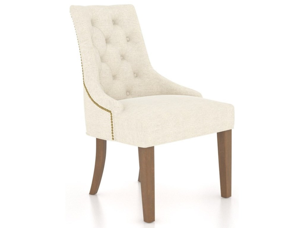 Canadel Farmhouse ChicCustomizable Upholstered Host Chair