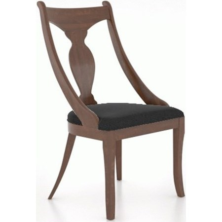 Customizable Chair with Upholstered Seat