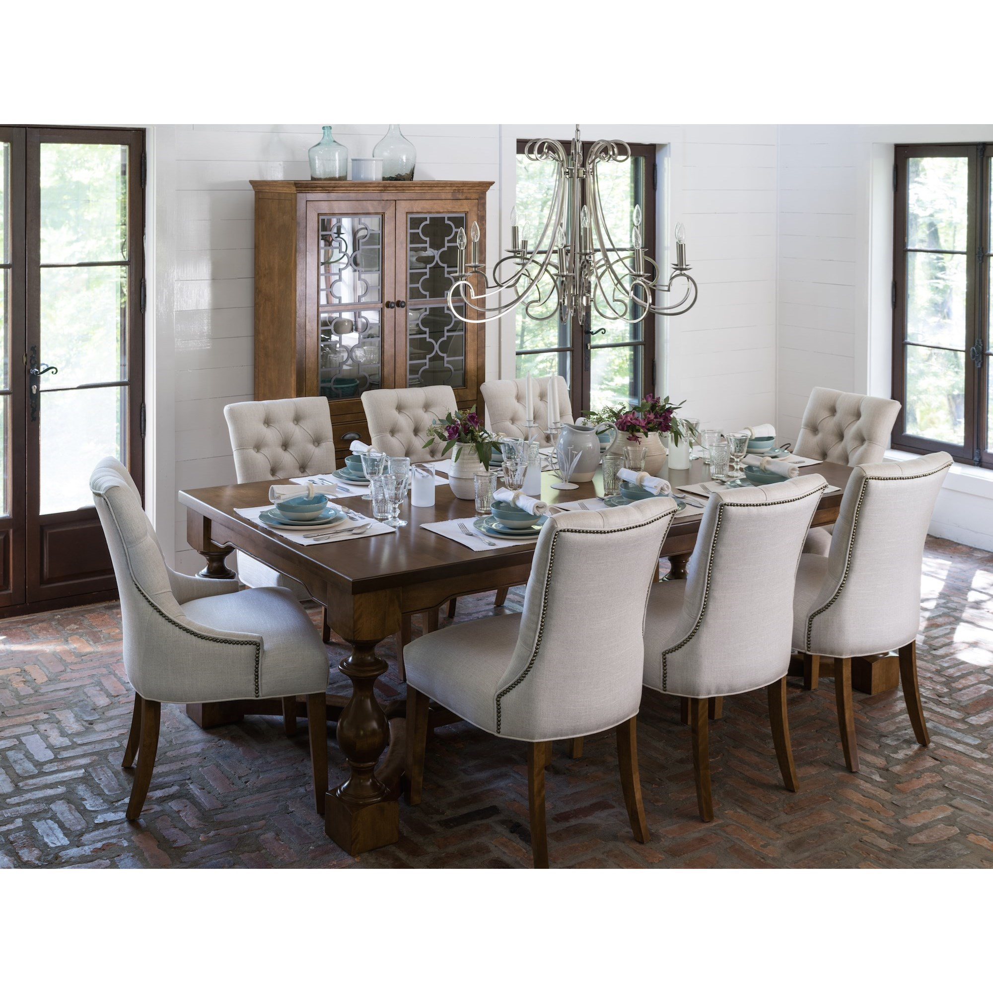 Superior Canadel Farmhouse ChicDining Room Group ...