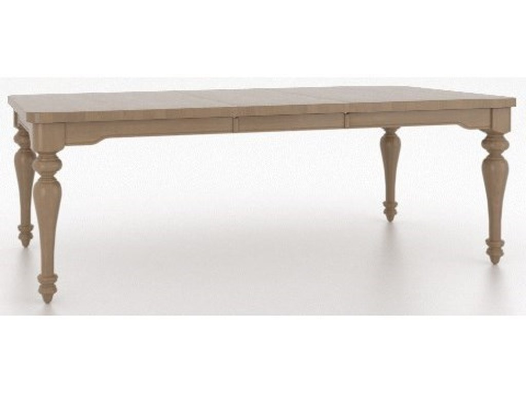 Canadel FarmhouseCustomizable Rectangular Dining Table