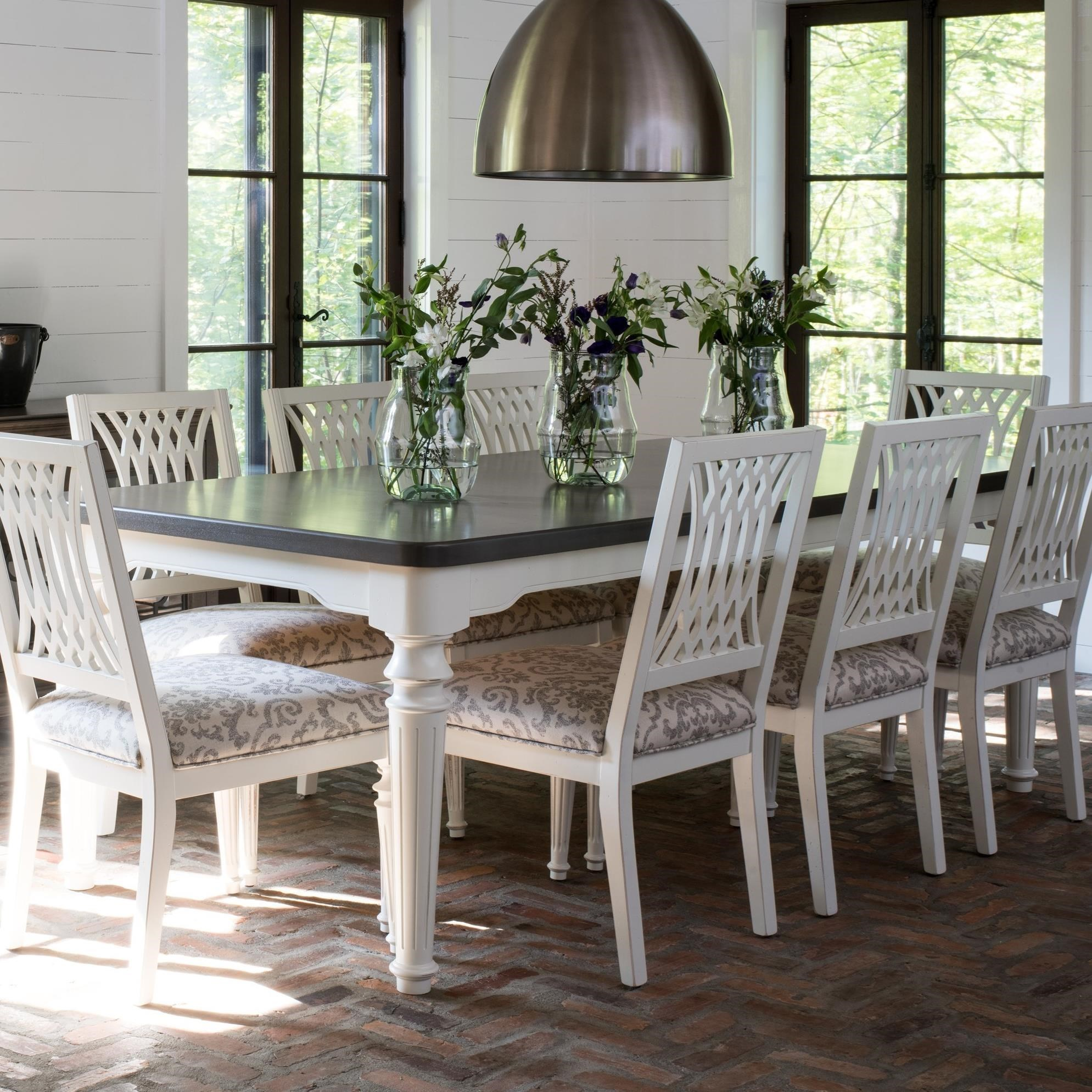 farmhouse chic furniture. Canadel Farmhouse ChicCustomizable Rectangular Dining Table Chic Furniture