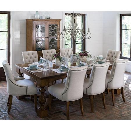 Customizable Dining Table Set