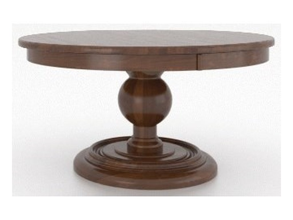 Canadel Farmhouse ChicCustomizable Round Dining Table