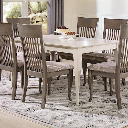 Canadel Gourmet - Custom Dining Customizable Rectangular Table