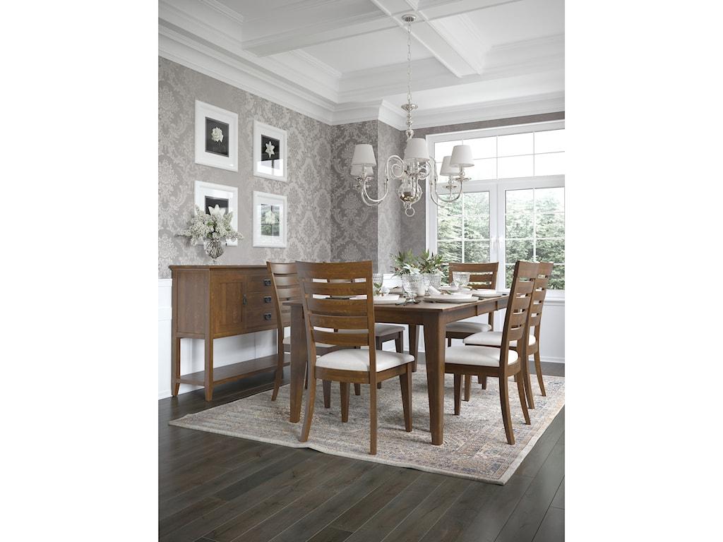 Canadel Gourmet - Custom DiningCustomizable Rectangular Table
