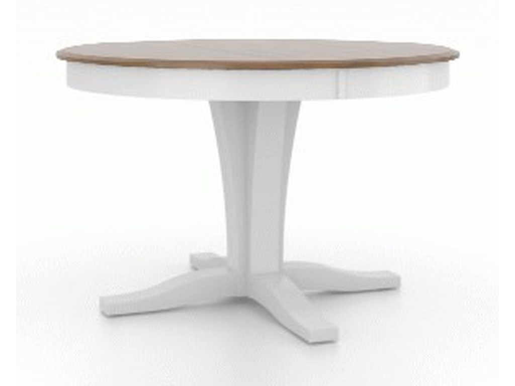 Canadel Gourmet - Custom DiningCustomizable Round Table with Pedestal