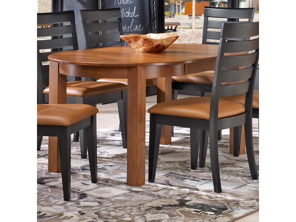Canadel Gourmet - Custom Dining<b>Customizable</b> Round Leg Table
