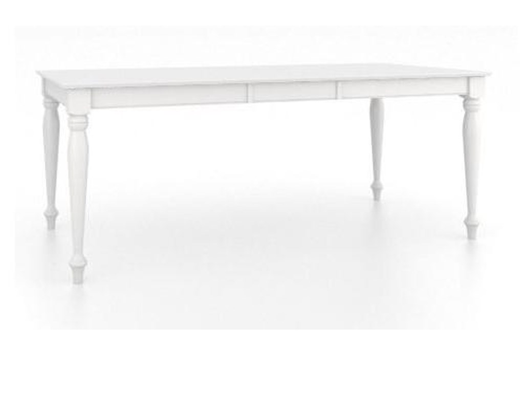 Canadel Gourmet - Custom Dining<b>Customizable</b> Rectangular Table