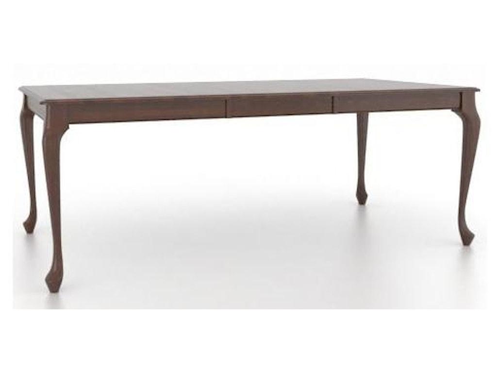 Canadel Gourmet - Custom Dining<b>Customizable</b> Rectangular Table