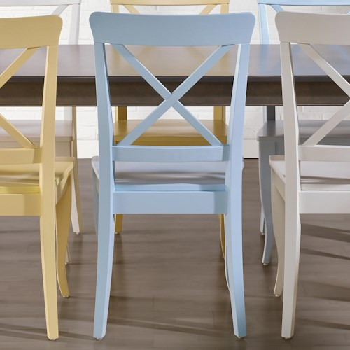 Canadel Gourmet - Custom Dining Customizable Side Chair - Wood Seat