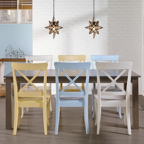Canadel Gourmet - Custom Dining Customizable Rectangular Table