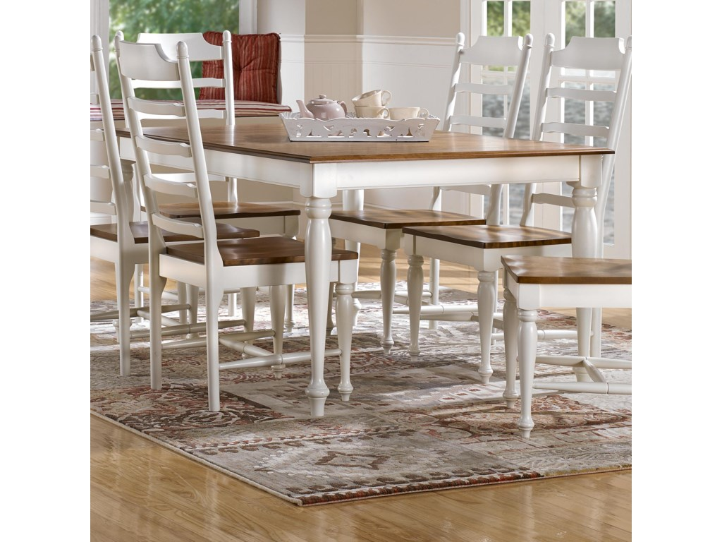 Canadel Gourmet Custom Dining Customizable Rectangular Table - Custom dining room table and chairs