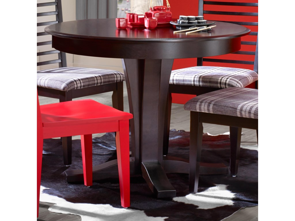 Canadel Gourmet - Custom Dining<b>Customizable</b> Round Table
